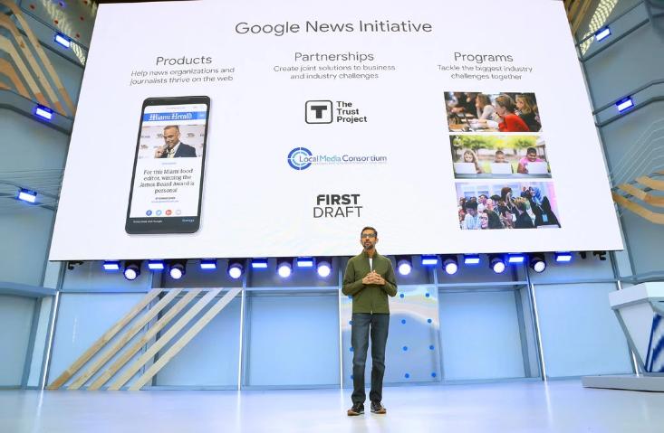 Google ganó $ 4.7 mil millones de la industria de las noticias en 2018, dice un estudio