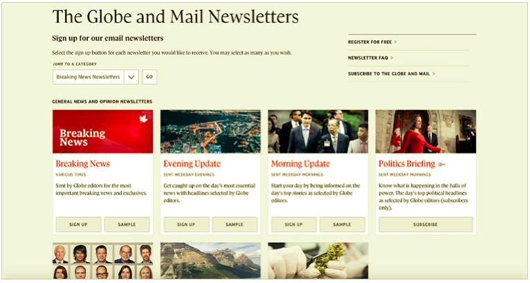 Los boletines informativos permiten a los lectores obtener contenido personalizado y fomentar un mayor compromiso.