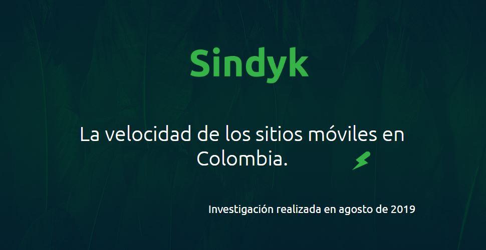 Benchmark: velocidad sitios colombianos