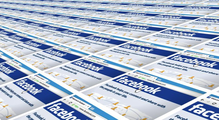 Pestaña de noticias de facebook